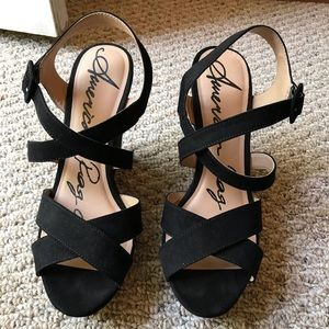 American Rag Platform Sandals
